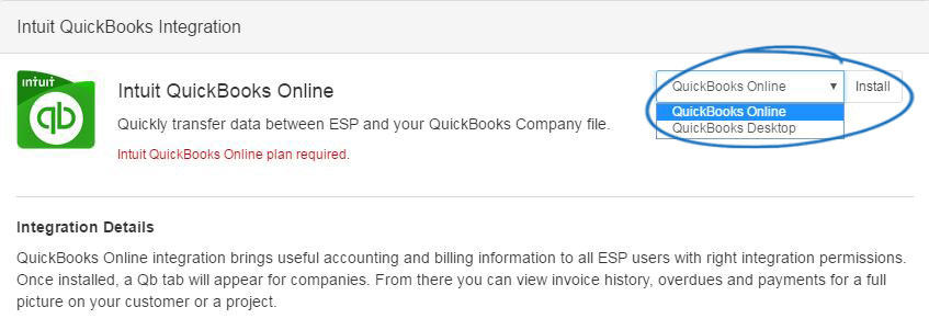 QuickBooks Integration with ESP - Knowledgebase / Orders - ASI